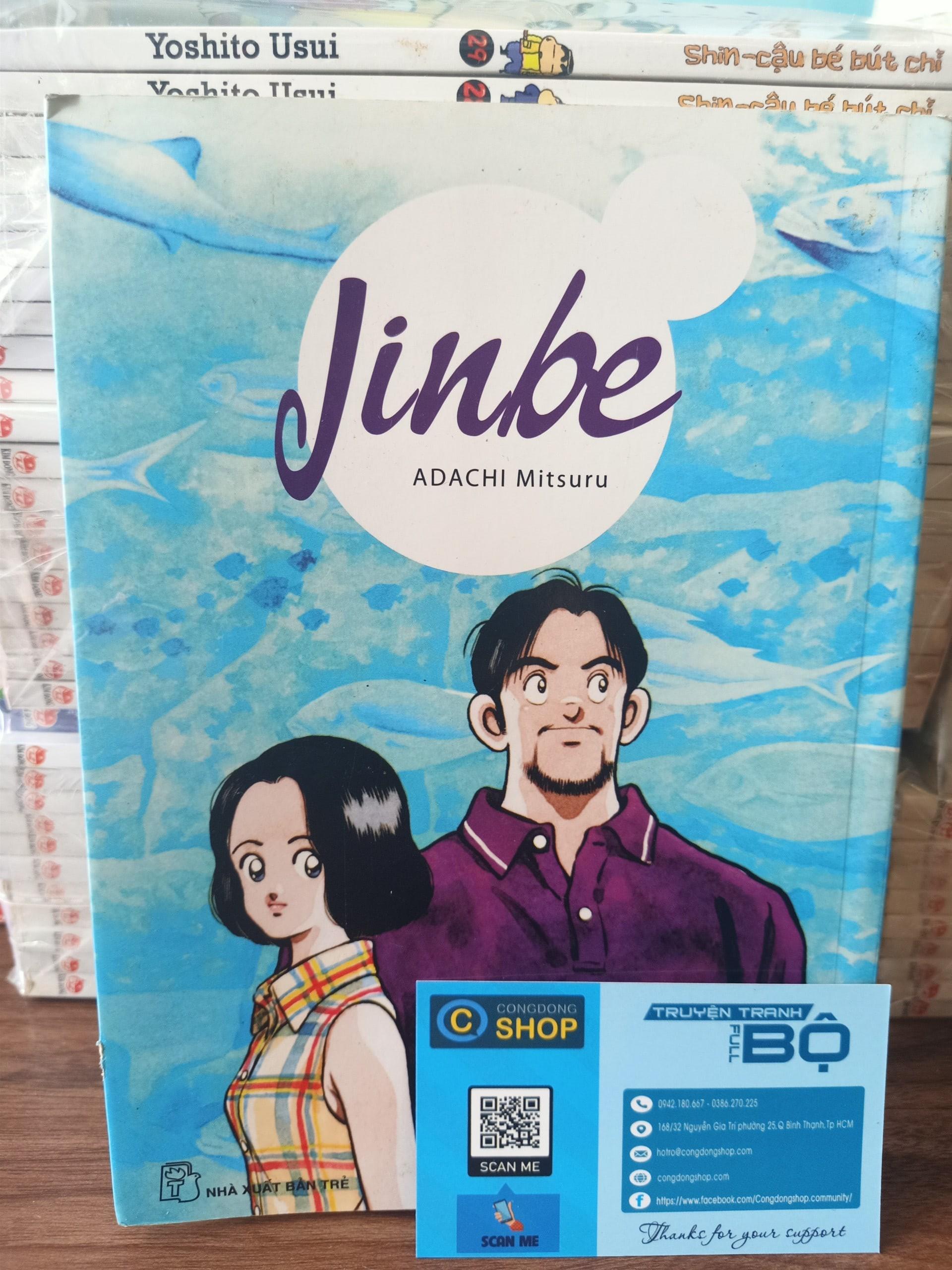 Truyện tranh Jinbe – NXB Trẻ – Adachi Mitsuru