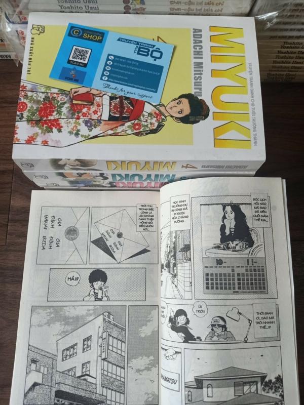 Truyện Miyuki-Adachi Mitsuru Full bộ 5 tập