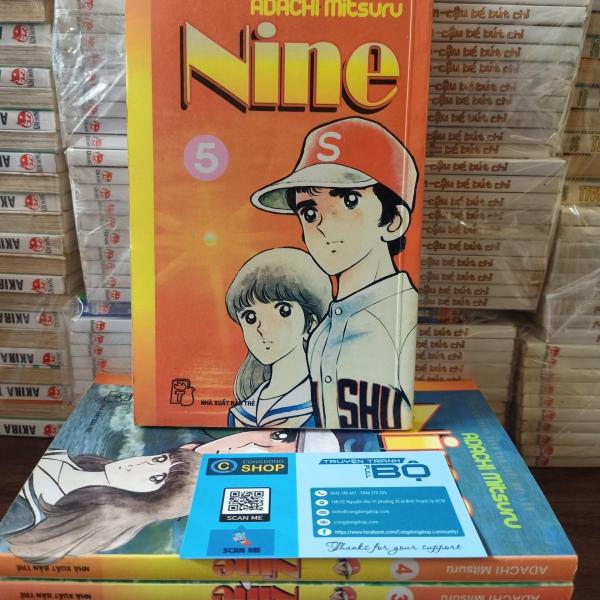 Truyện tranh Nine - Full 5 tập - Adachi Mitsuru
