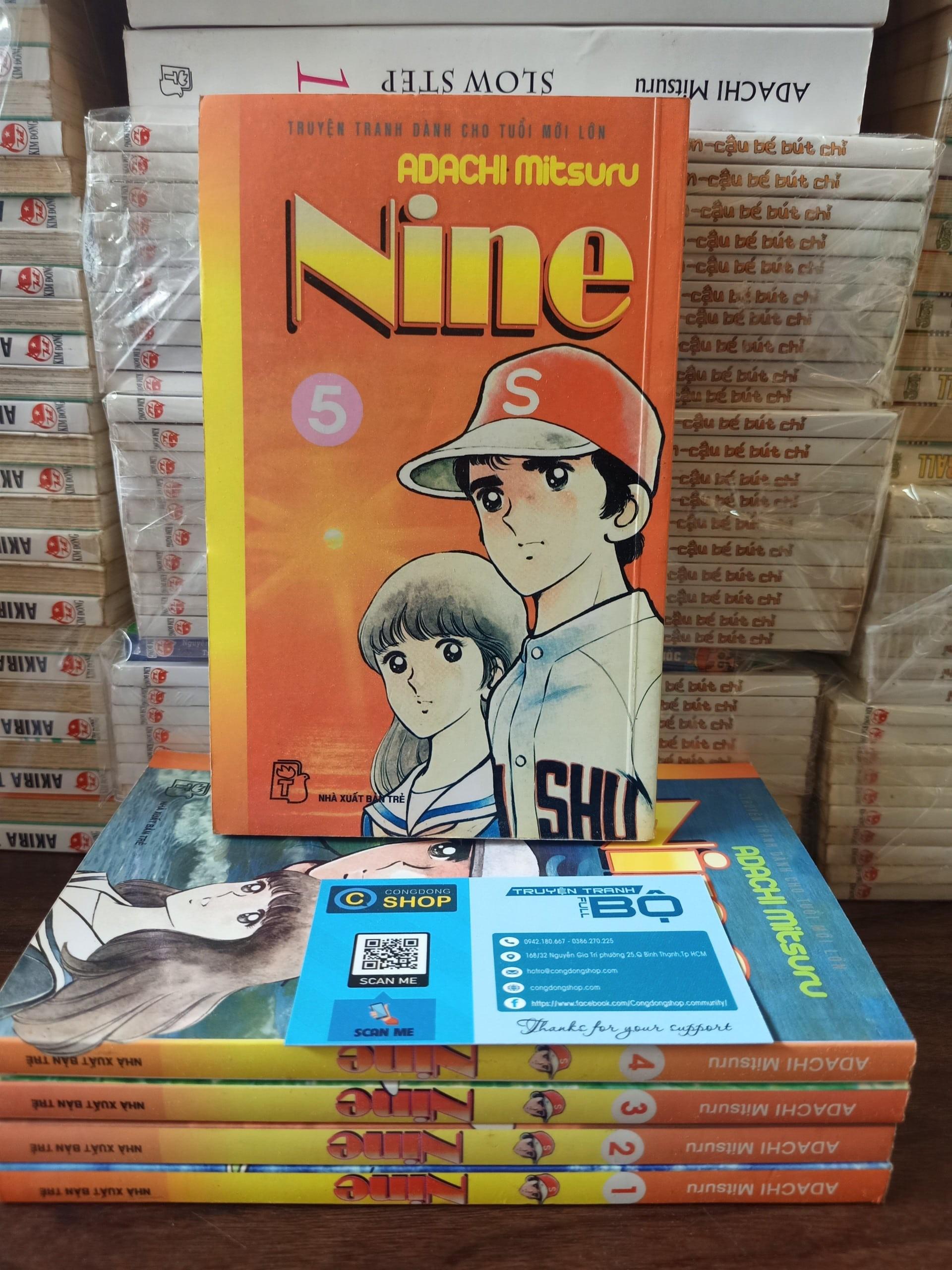 Truyện tranh Nine – Full 5 tập – Adachi Mitsuru