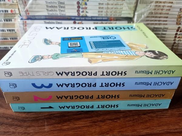 Truyện Short Program-Adachi Mitsuru Full bộ 4 tập