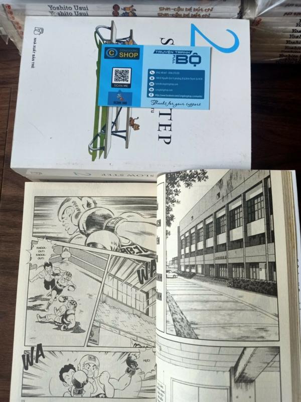 Truyện Slow Step-Adachi Mitsuru Full bộ 3 tập