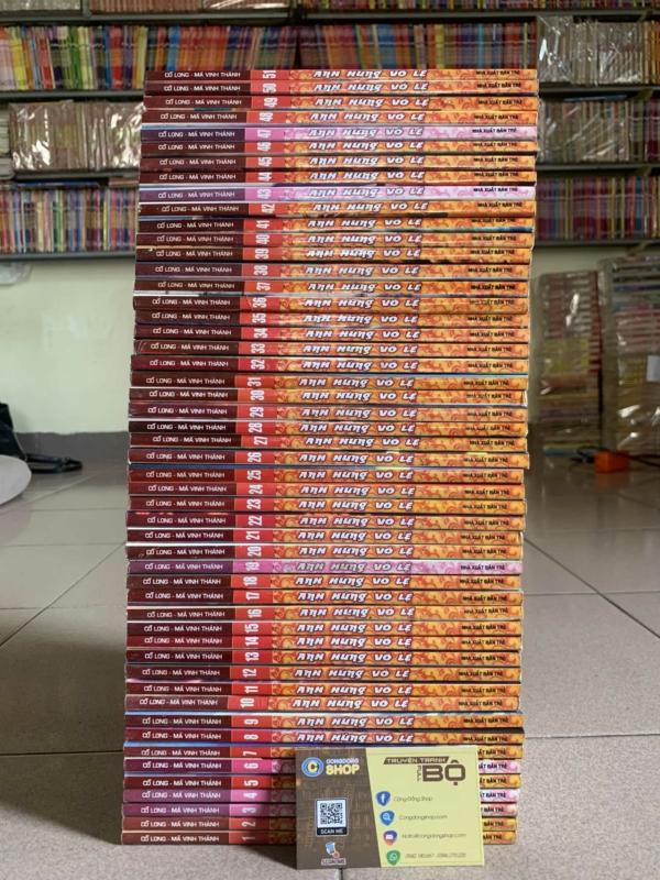 Truyện Anh Hùng Vô Lệ Full bộ giá rẻ