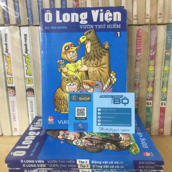 Trọn bộ 7 tập Truyện Ô Long Viện Vườn Thú Hiếm