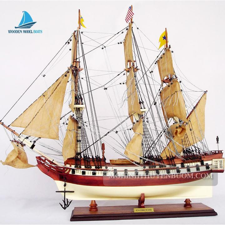 Thuyền Gỗ BON HOMME RICHARD