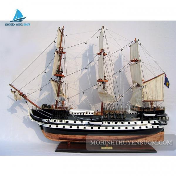 Mô hình thuyền gỗ HMS CONWAY