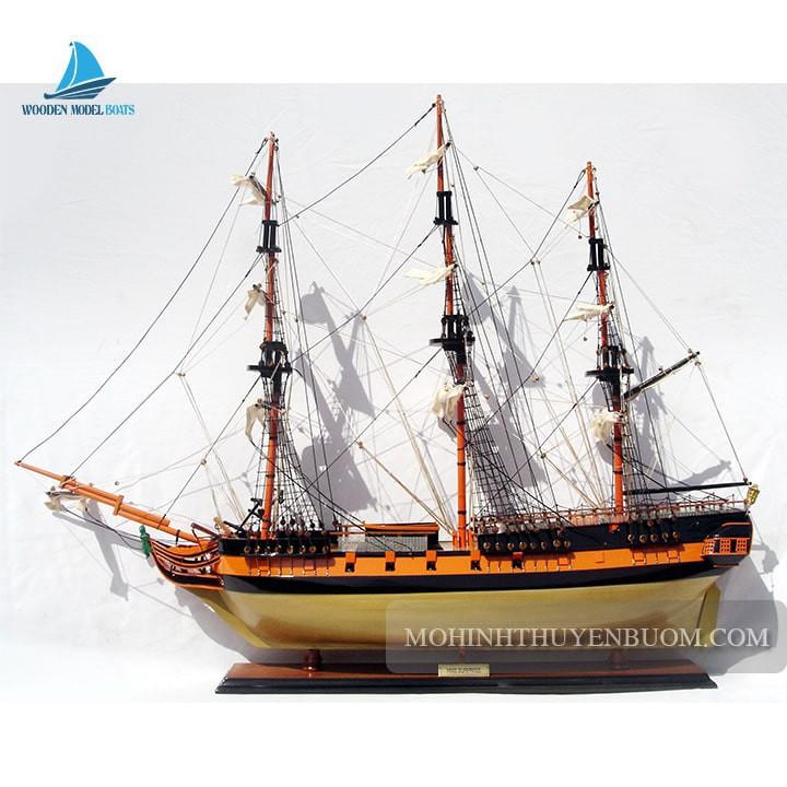 Mô hình thuyền gỗ HMS SURPRISE