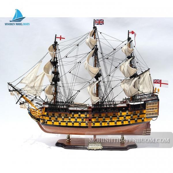 Mô hình thuyền gỗ HMS VICTORY PAINTED