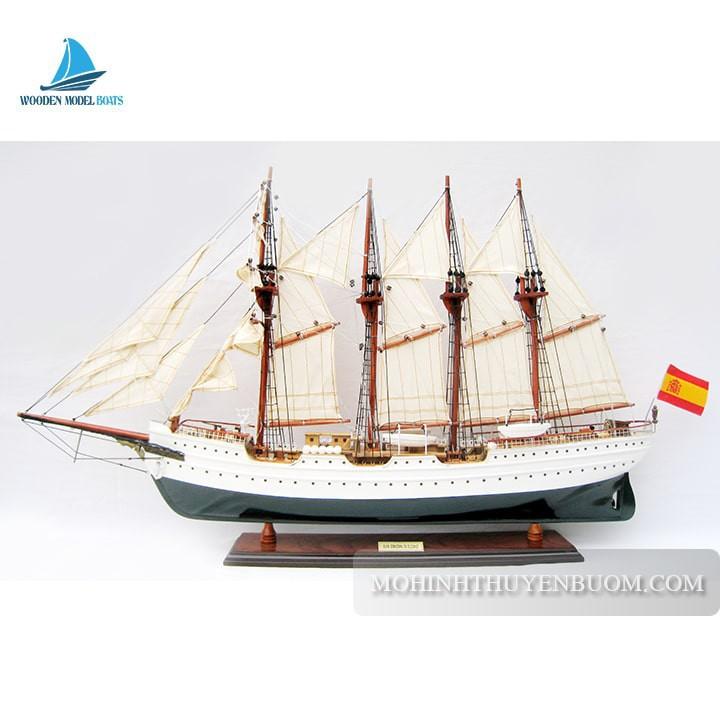 Thuyền gỗ JUAN SEBASTIAN DE ELCANO