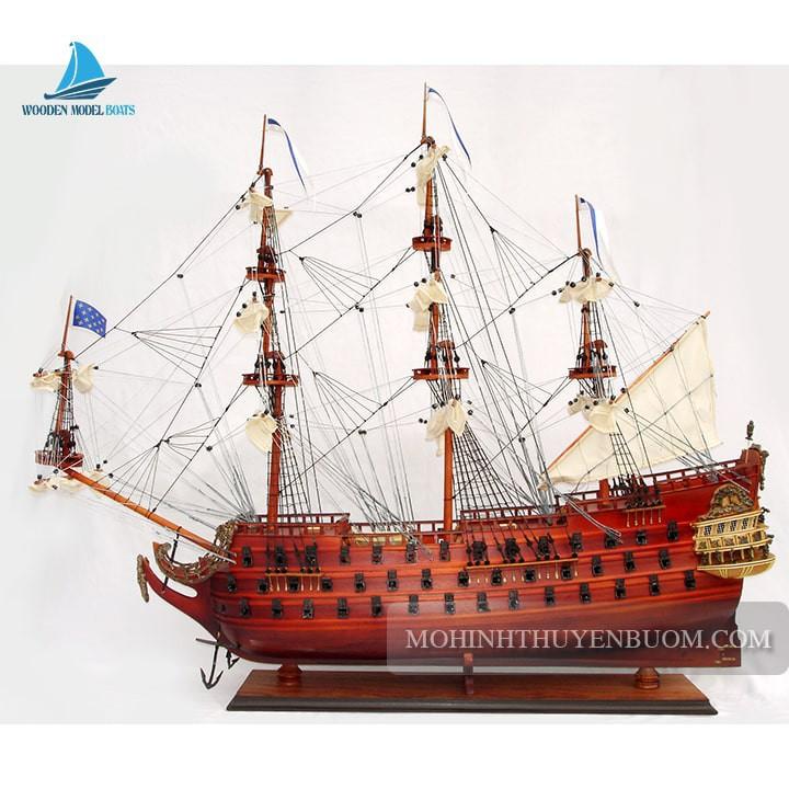 Thuyền gỗ LE FURIEUX