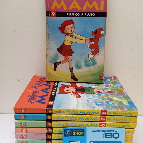 Trọn bộ Truyện Siêu nhân Mami 9 tập giá rẻ