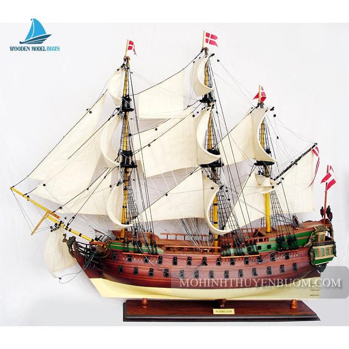 Mô hình Thuyền gỗ NORSKE LOVE