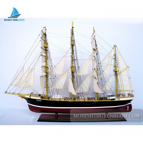 Mô hình Thuyền gỗ PARMA