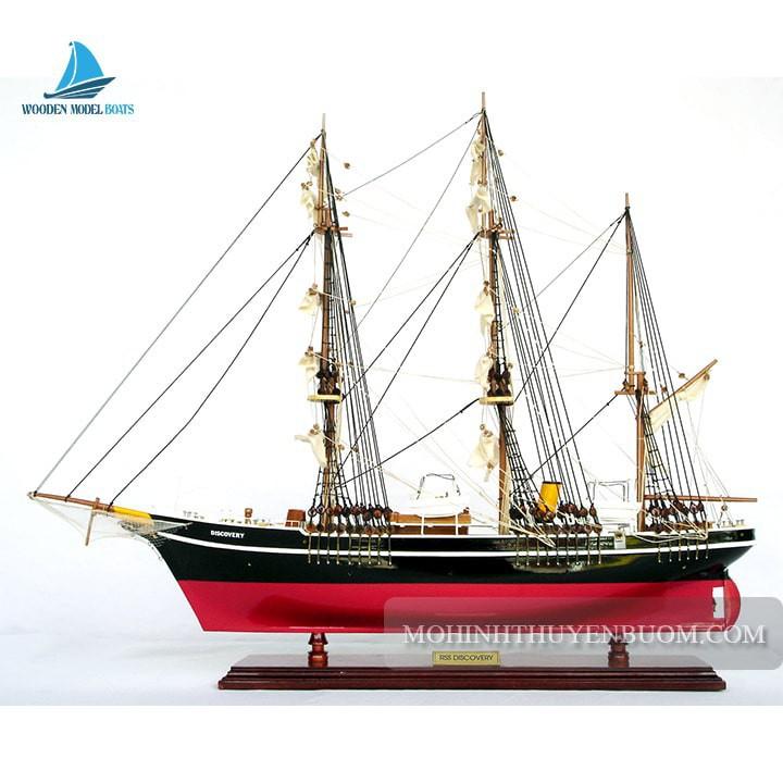 Mô hình Thuyền gỗ RRS DISCOVERY