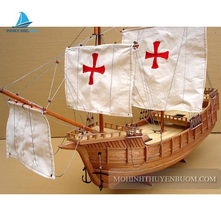 Mô hình Thuyền gỗ SANTA MARIA