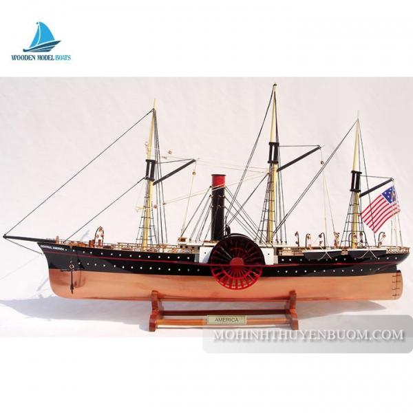 Mô hình Thuyền gỗ SS CENTRAL AMERICA