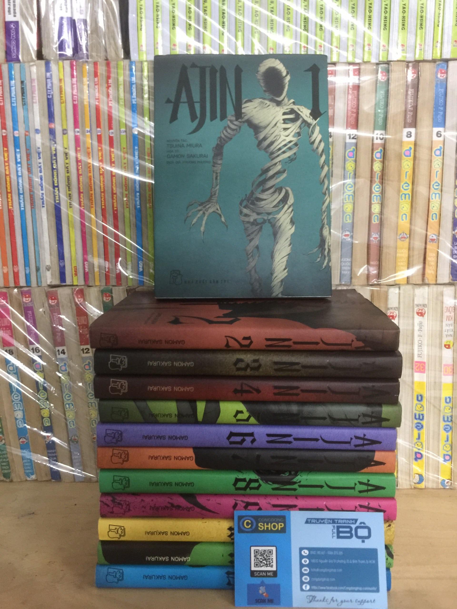 Truyện tranh Ajin trọn bộ 12 tập