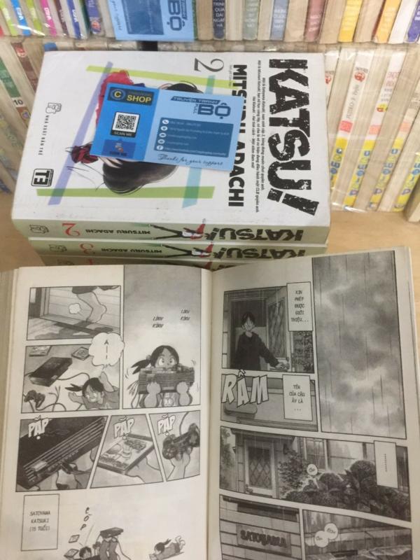 Trọn bộ Truyện Katsu Khổ lớn - Adachi Mitsuru