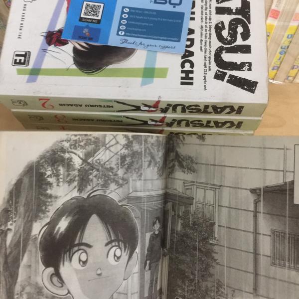 Trọn bộ Truyện Katsu Khổ lớn - Adachi Mitsuruxe 6 Min