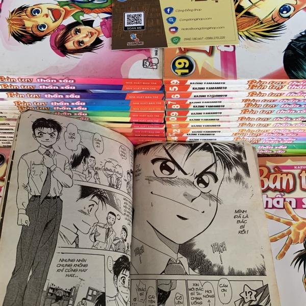 Truyện Bàn Tay Thần Sầu Full 35 Tập giá rẻ