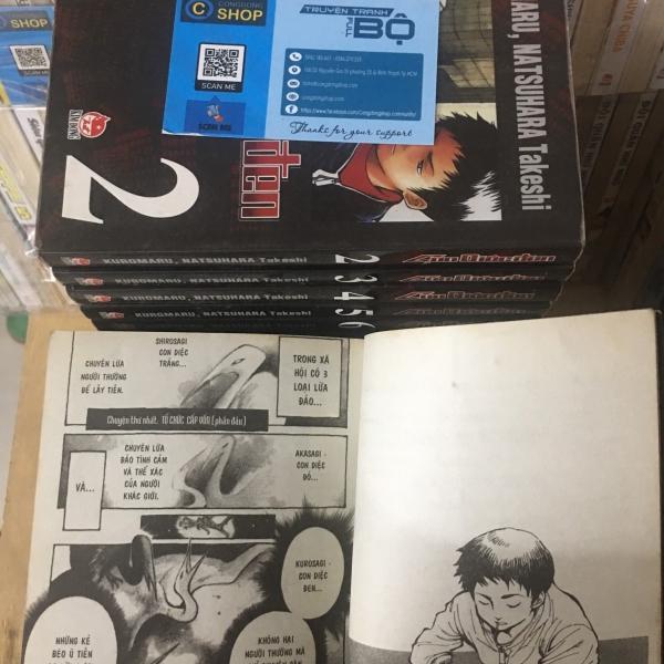 Truyện Con Diệc Đen 20 Tập Full bộ giá rẻ