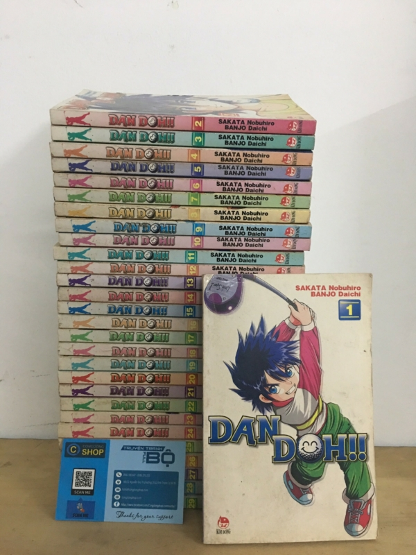 Truyện Hoàng Tử Dan Doh!!! Full Bộ Giá rẻ Min