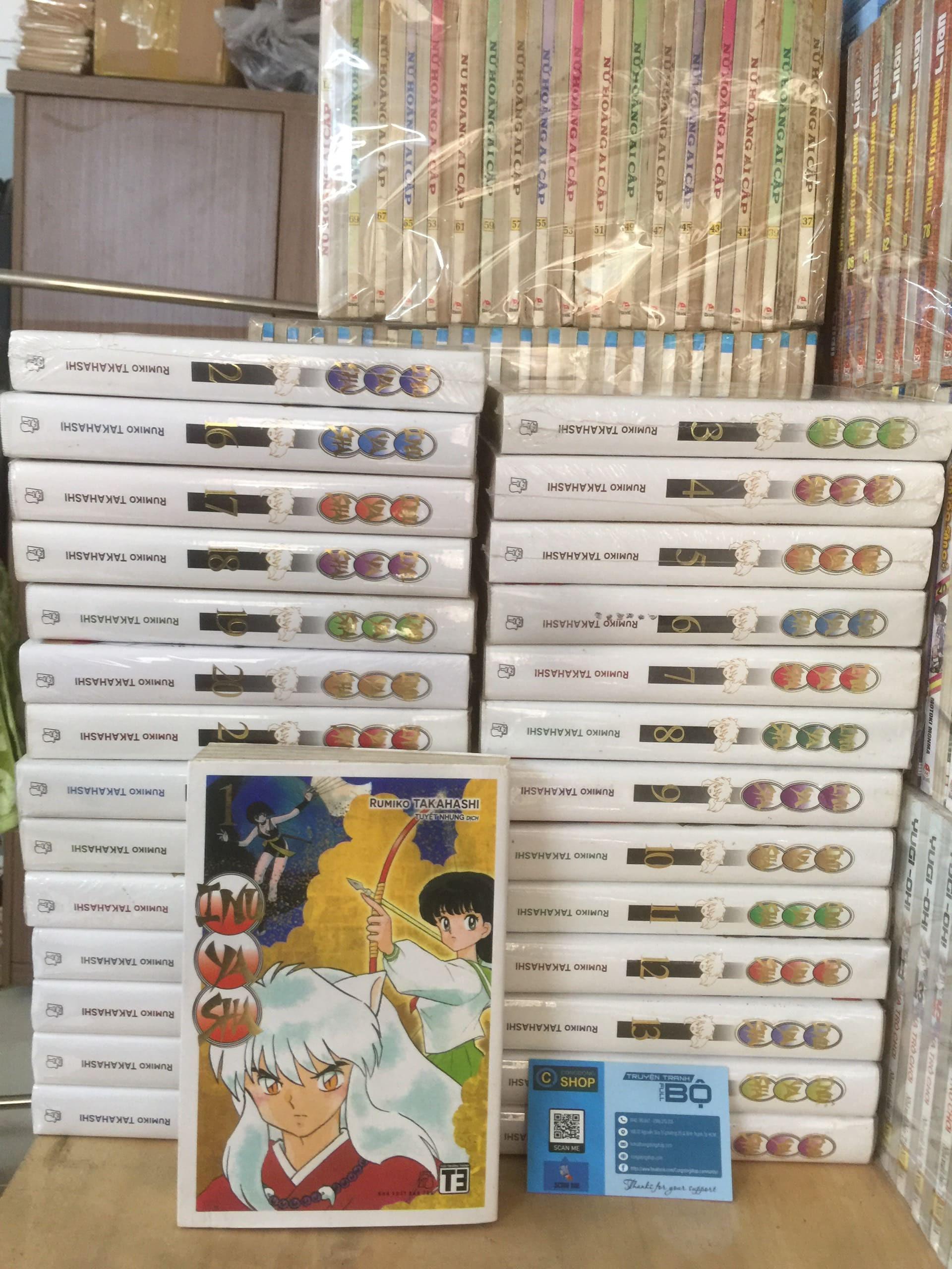 Trọn Bộ 30 Tập Inuyasha Deluxe – Rumiko Takahashi