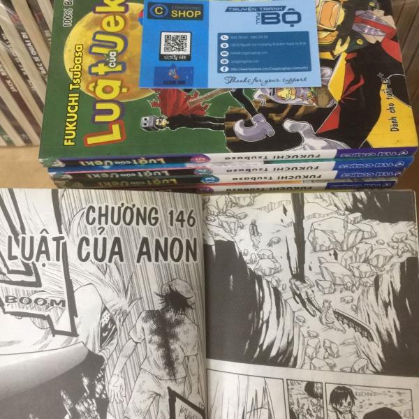 Truyện Luật Của Ueki Full bộ 16 Tập giá rẻ