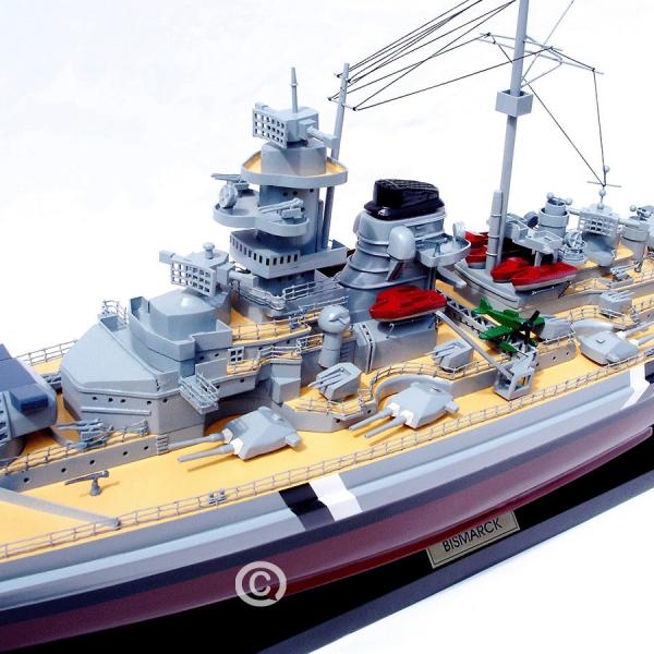 MÔ HÌnh ThuyỀn ChiẾn Bismarck 2