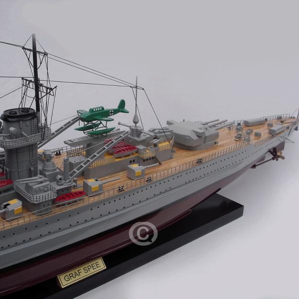 MÔ HÌnh ThuyỀn ChiẾn Graf Spee 1