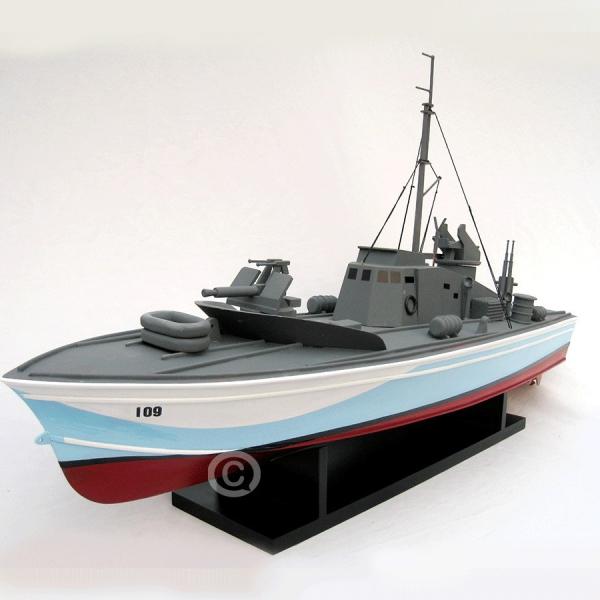 MÔ HÌnh ThuyỀn ChiẾn Torpedo 4
