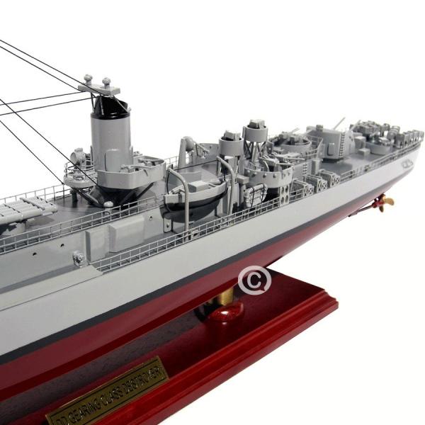 MÔ HÌnh ThuyỀn ChiẾn Uss Gearing Class Destroyer 5