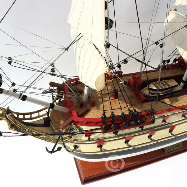 Mô Hình Thuyền Cổ La Licorn 70 4