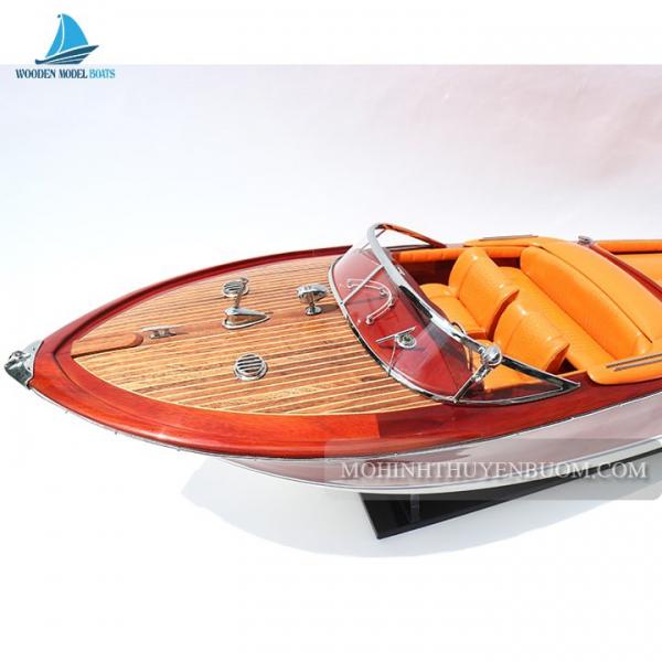 Super Riva Aquarama Orange 2 Min