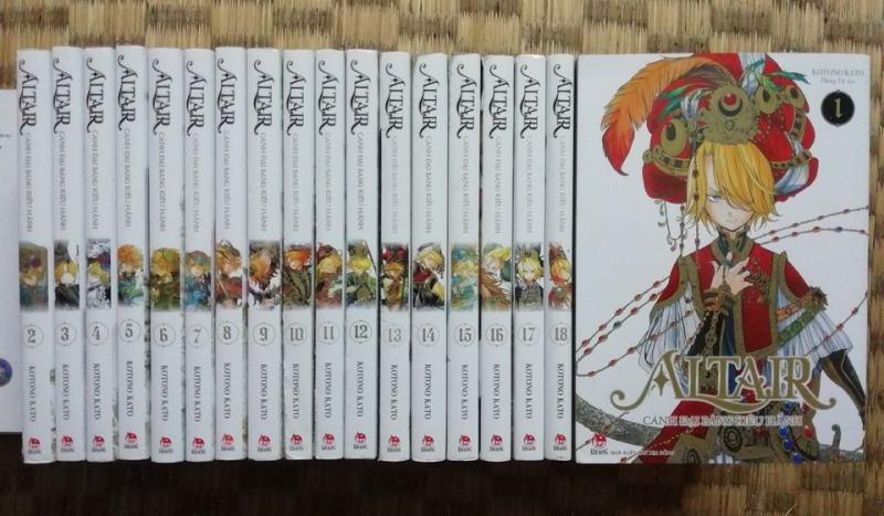 Truyện Altair - Cánh Đại Bàng Kiêu Hãnh Full 19 tập