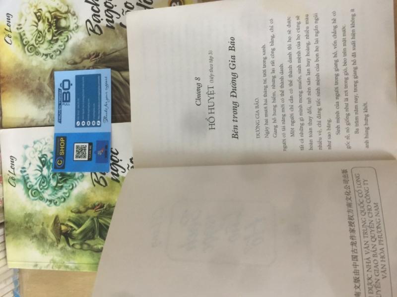 Truyện Kiếm Hiệp Bạch Ngọc Lão Hổ giá rẻ