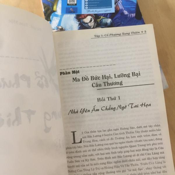 Truyện Kiếm Hiệp Cổ Phượng Xung Thiên 2 tập