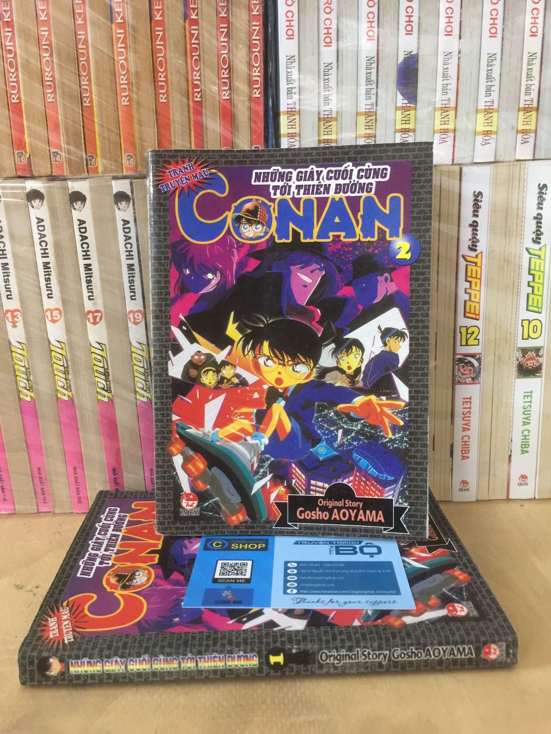 Truyện Conan Màu – Những Giây Cuối Cùng Tới Thiên Đường