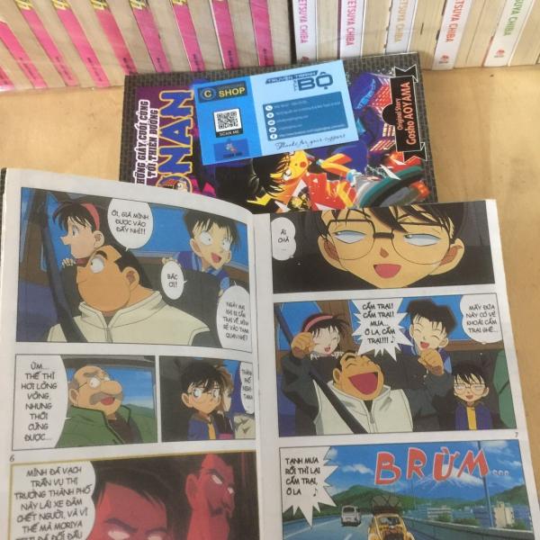 Truyện Conan Màu - Những Giây Cuối Cùng Tới Thiên Đường