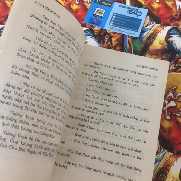 Truyện Kiếm Hiệp Hắc Kiếm Môn 6 tập