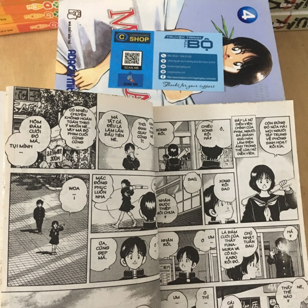 Trọn Bộ 5 Tập Misora - Adachi Mitsuru Giá rẻ