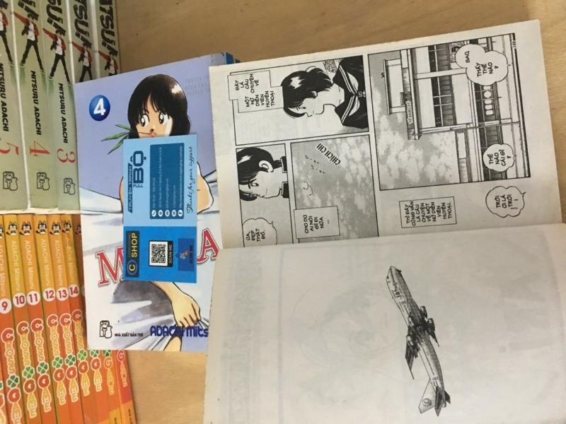 Truyện Misora 3Trọn Bộ 5 Tập Misora - Adachi Mitsuru Giá rẻ Min