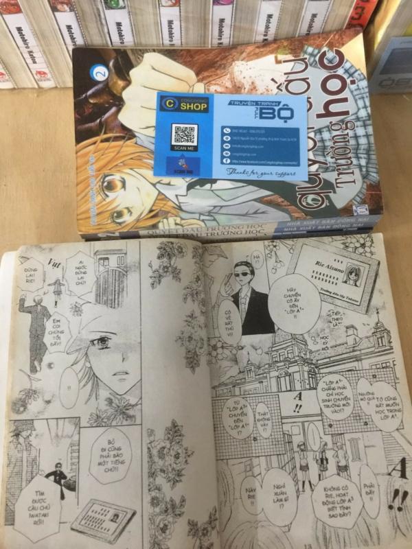 Truyện Quyết Đấu Trường Học Full 4 Tập giá rẻ