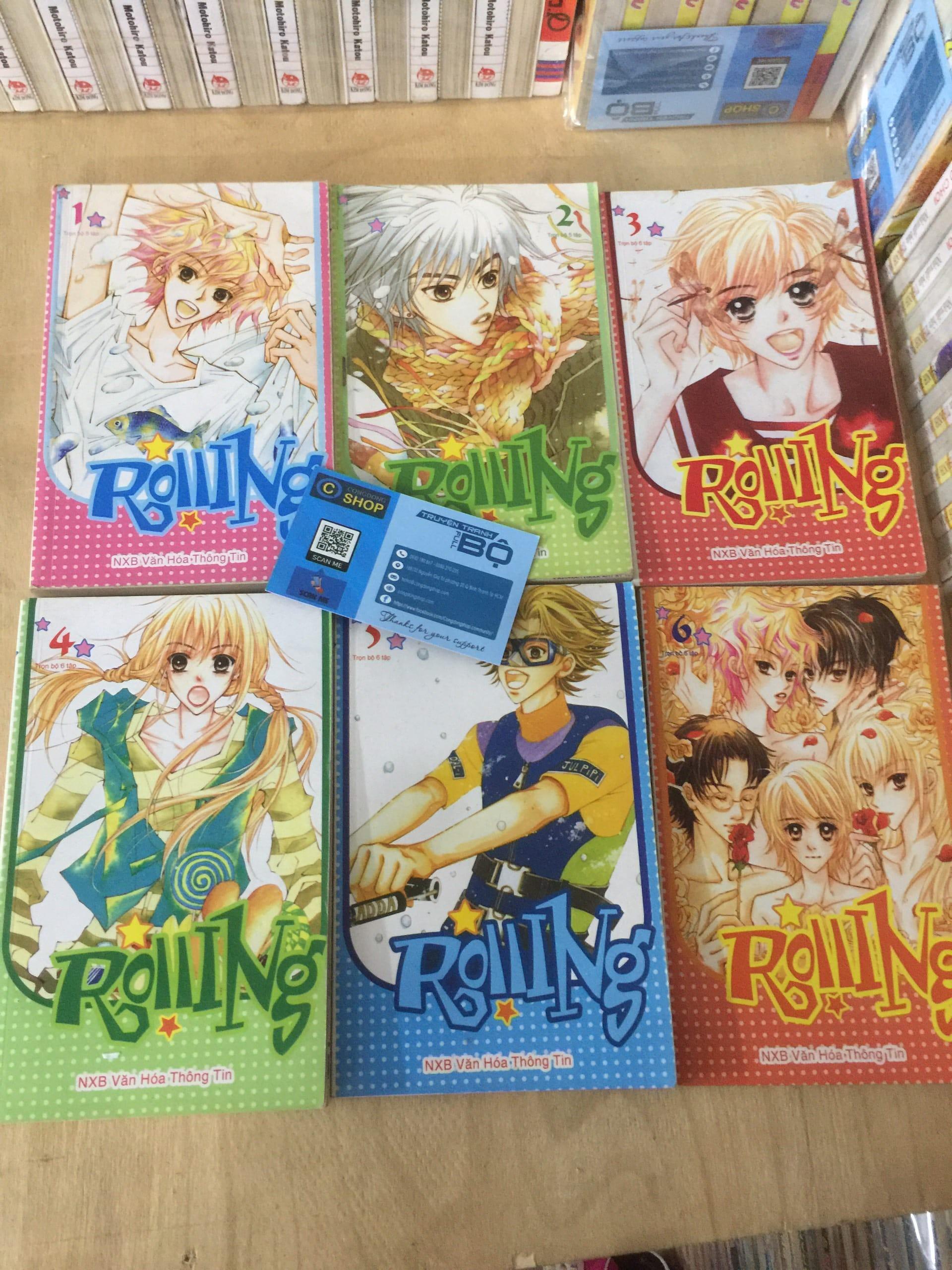 Truyện Rolling Full bộ 6 Tập Giá rẻ   Mua bán truyện tranh đủ bộ, truyện 8x