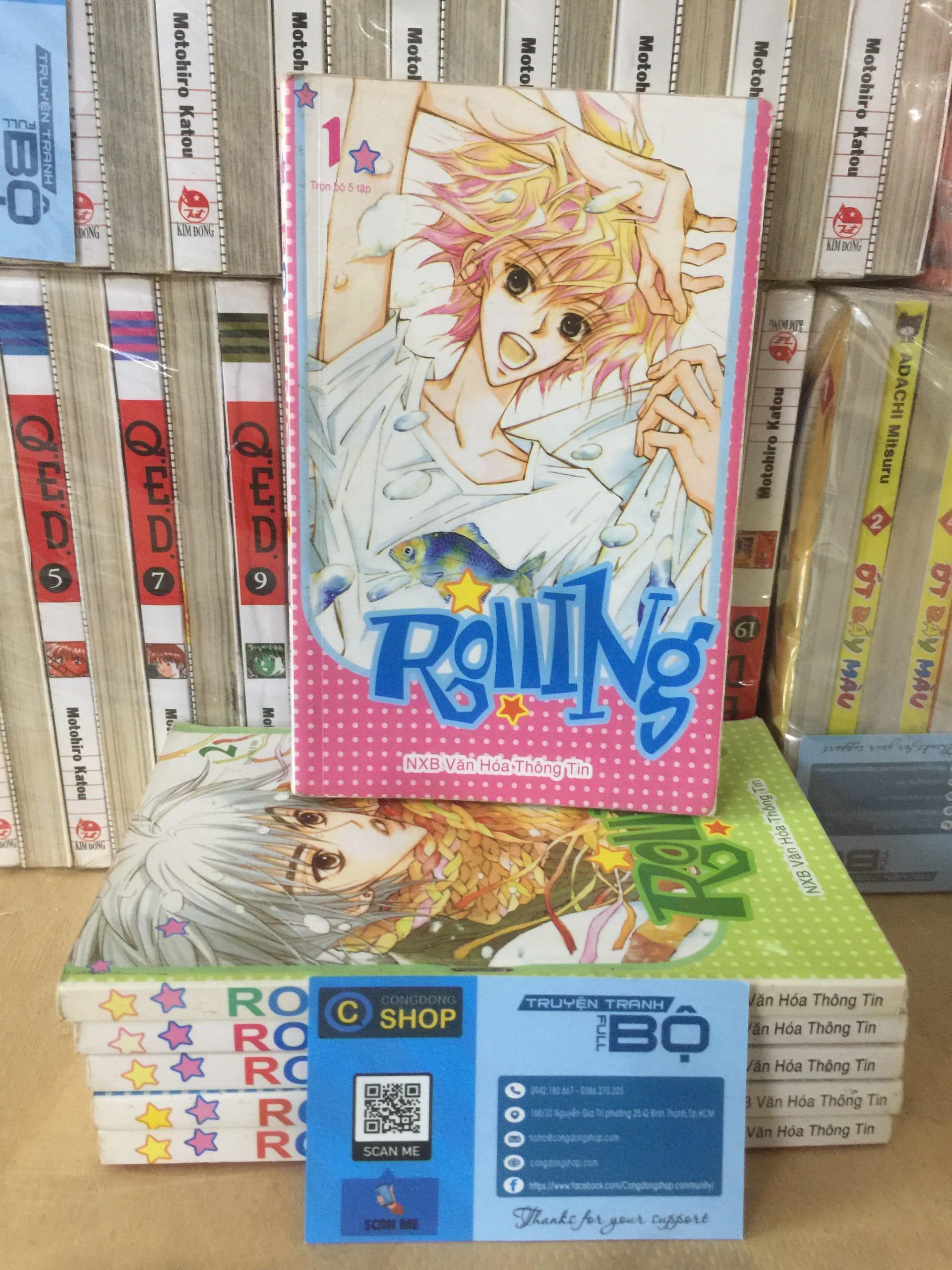 Truyện Rolling Full bộ 6 Tập Giá rẻ