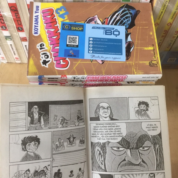 Truyện Tranh Tôi Là Chokkaku Full 14 tập giá rẻ