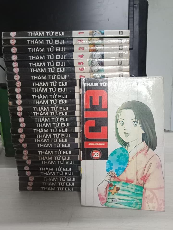 Truyện Thám Tử Eiji 28 Tập Full bộ giá rẻ