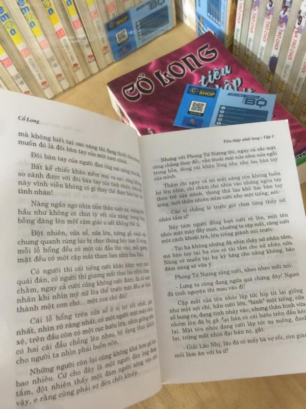 Truyện Kiếm Hiệp Tiêu Thập Nhất Lang 2 tập