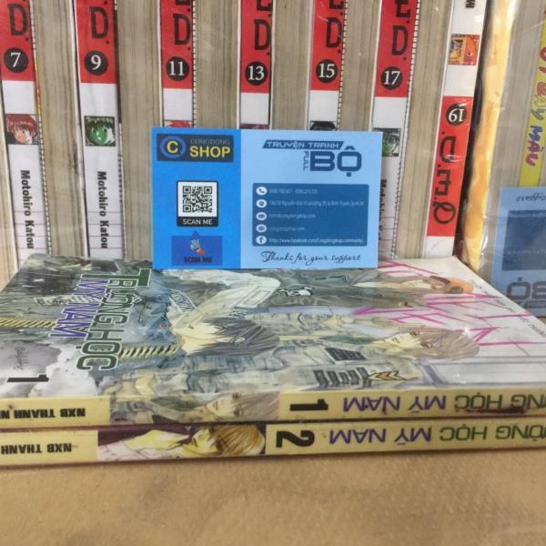 Truyện Trường Học Mỹ Nam Full 2 tập giá rẻ