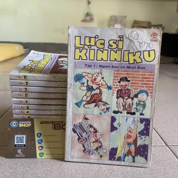 Truyện Lực Sĩ Kinniku 15 Tập Full bộ giá rẻ